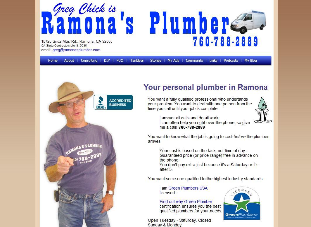 Ramonas Plumber Usa Plumbing