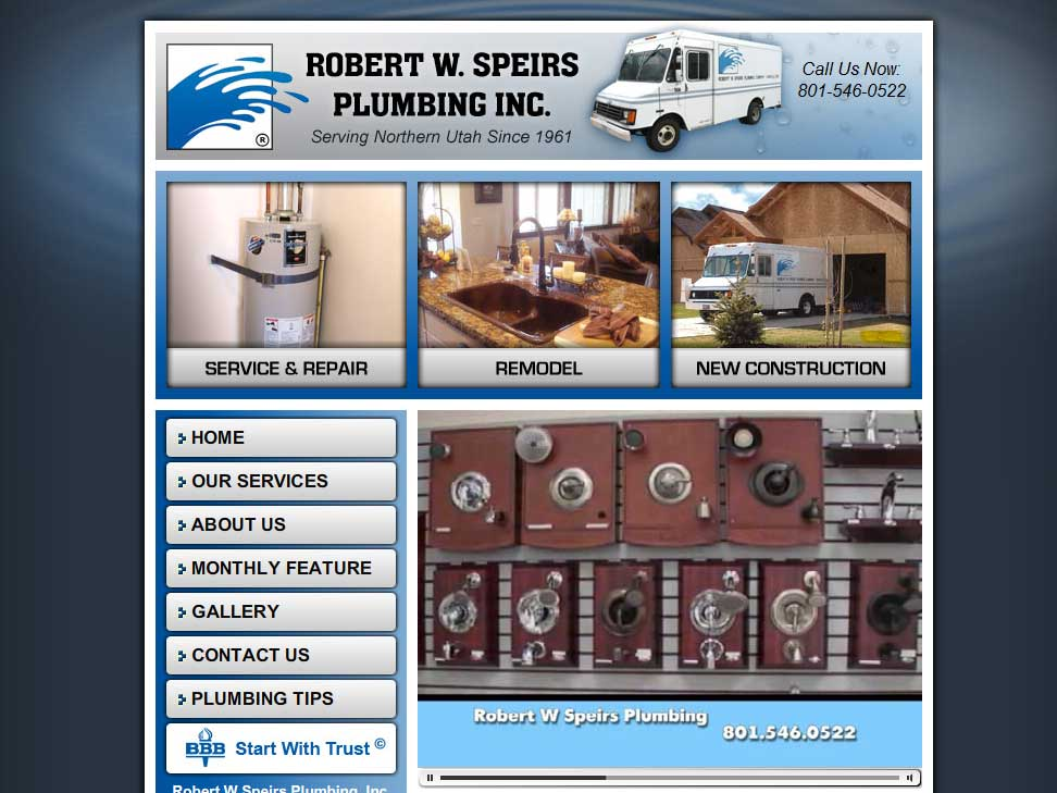 Robert W Speirs Plumbing Inc Usa Plumbing