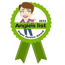 Immediate Appliance Service, Inc. Receives Angie's List Super Service Award for 2012