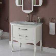 White Bathroom Vanities by HomeThangs