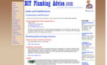 Free Do It Yourself plumbing videos and information