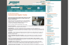 Jensen Precast - Commercial Septic Tanks