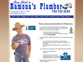 Ramona's Plumber Greg Chick