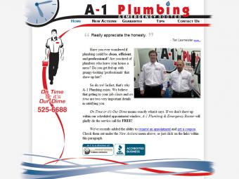 A-1 Plumbing and Emergency Rooter