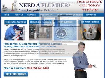 Need a Plumber Inc