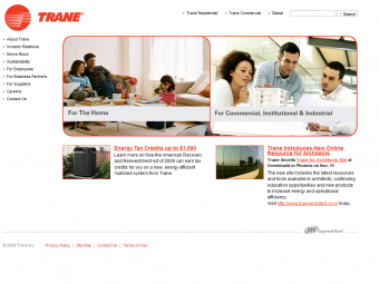 Trane Air Conditioning Services